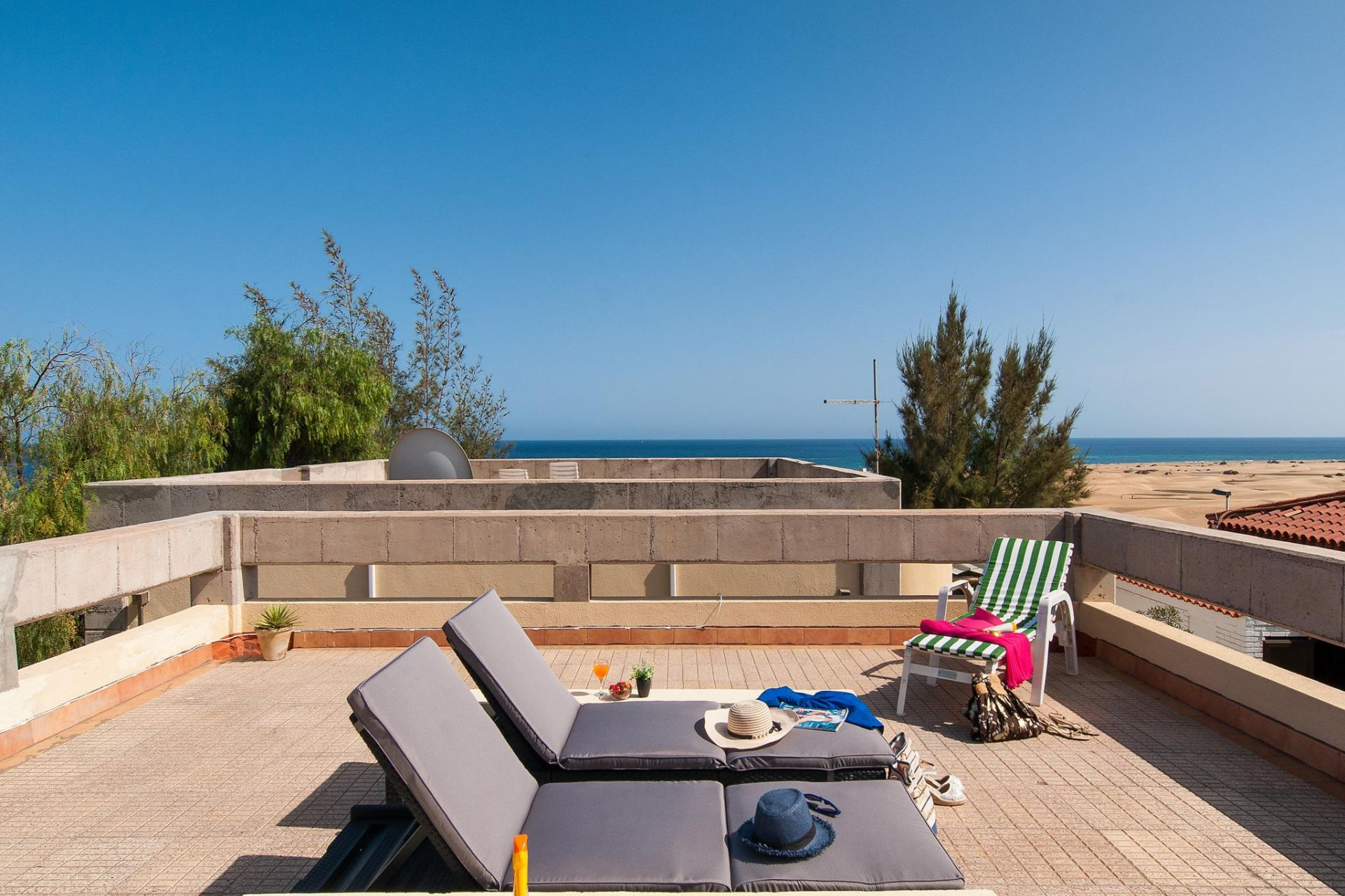 Self Catering Holiday Rental Casa Verde For 3 Persons In
