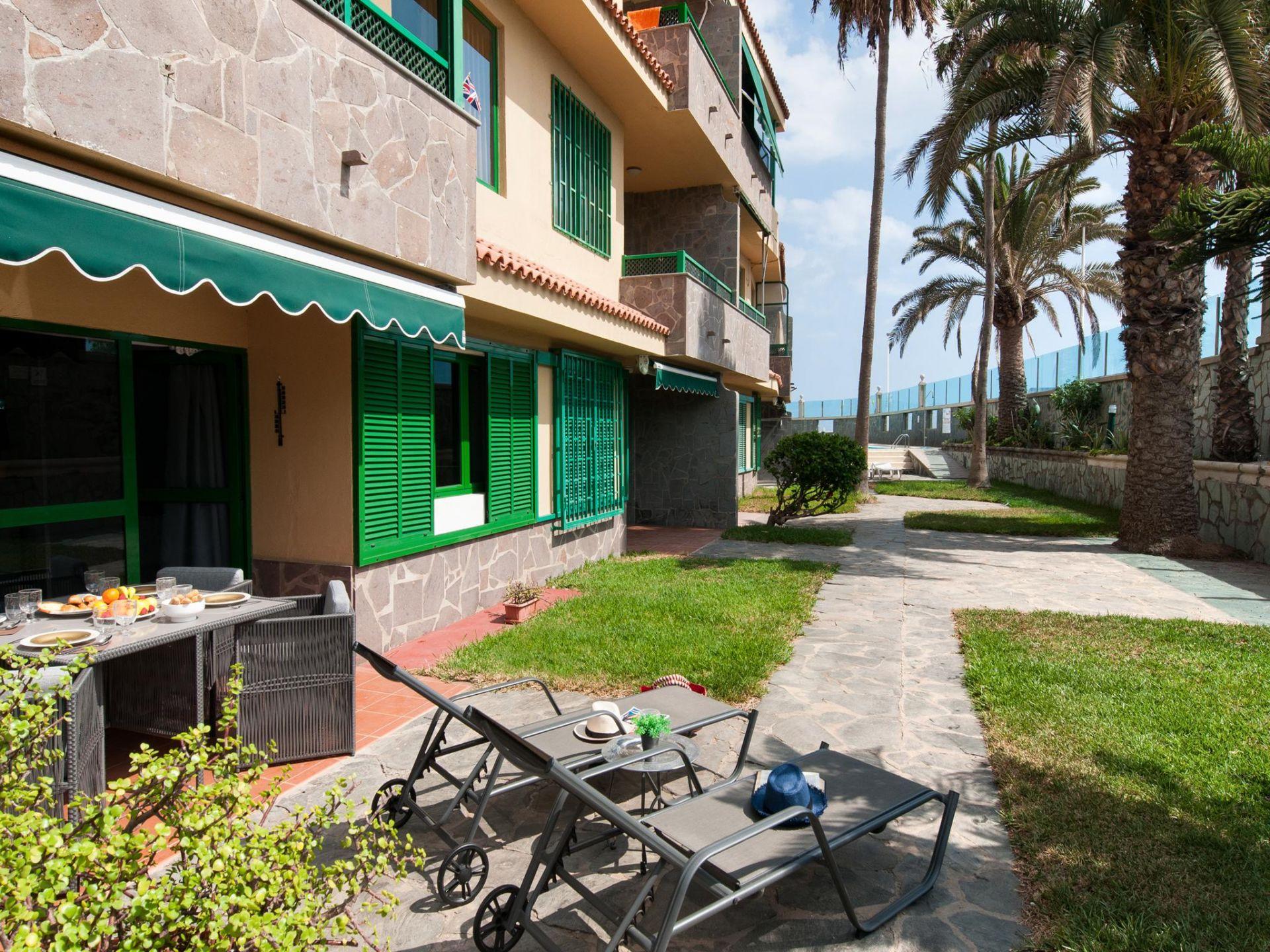Holiday apartment Beach front Apartment Las Burras Aquarius 01 (2008267), Maspalomas, Gran Canaria, Canary Islands, Spain, picture 16