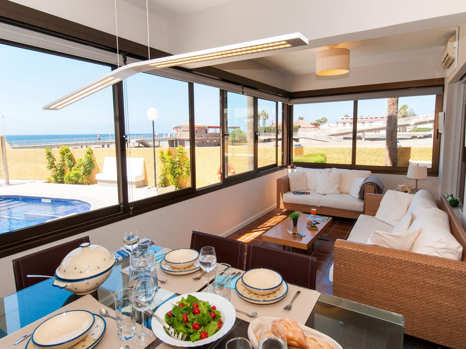 Holiday apartment Beach front apartment in Playa de Las Burras CN (1559316), Maspalomas, Gran Canaria, Canary Islands, Spain, picture 2