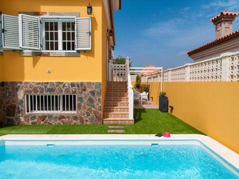 Villa con piscina privada q10 en sonnenland gran canaria - Villas en gran canaria con piscina ...