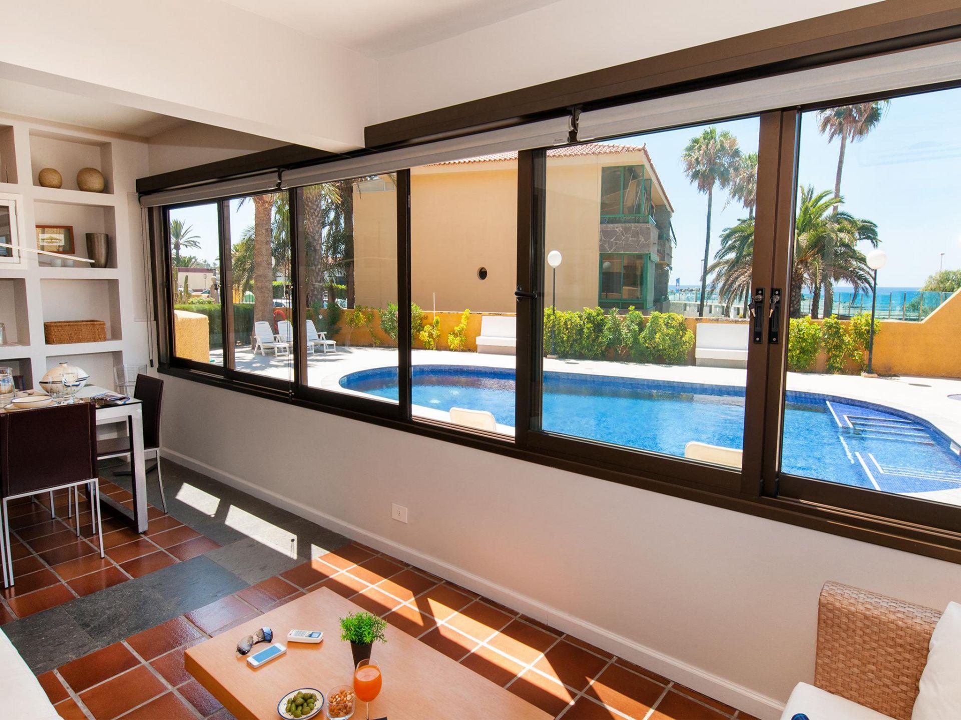 Holiday apartment Beach front apartment in Playa de Las Burras CN (1559316), Maspalomas, Gran Canaria, Canary Islands, Spain, picture 3