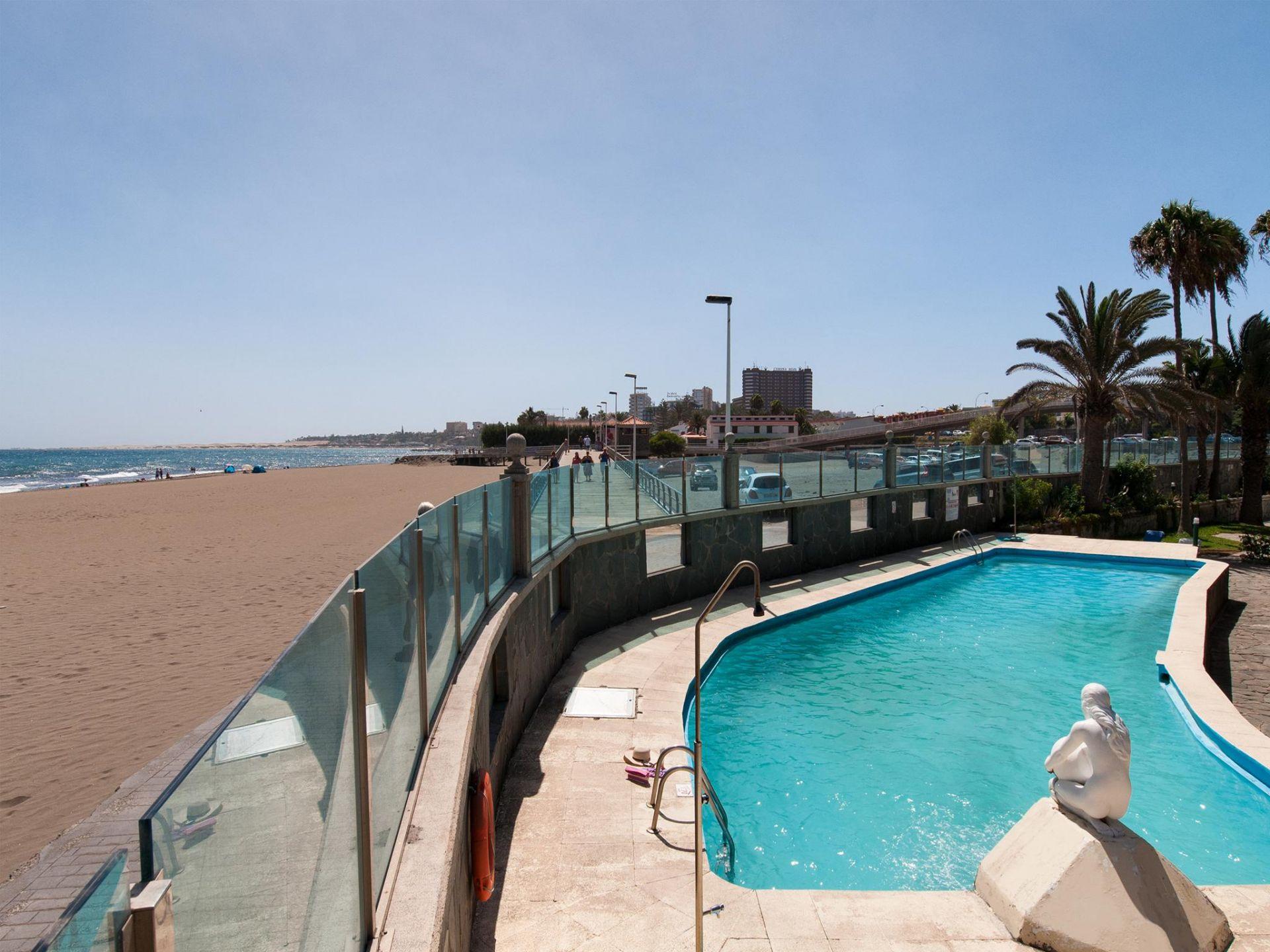 Holiday apartment Beach front Apartment Las Burras Aquarius 01 (2008267), Maspalomas, Gran Canaria, Canary Islands, Spain, picture 19